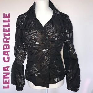 Lena Gabrielle Double breasted jacket size…